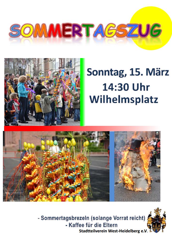 Plakat Sommertagszug 2015
