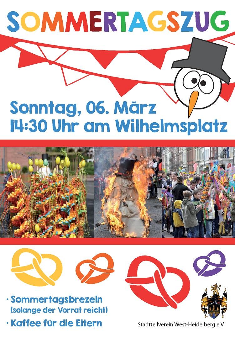 Plakat Sommertagszug 2016