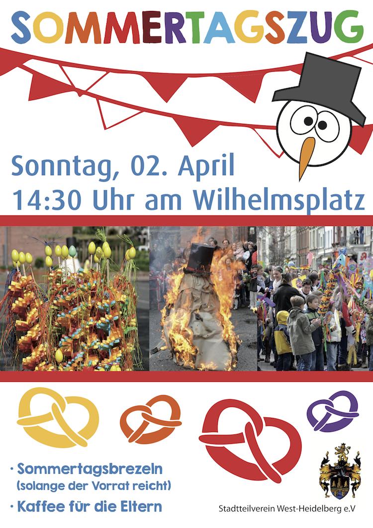 Plakat Sommertagszug 2017