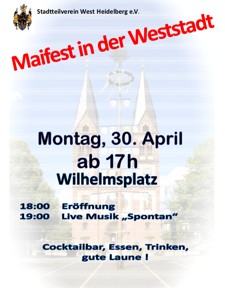 Plakat Maifest 2018